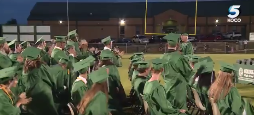 World War II veteran finally crosses graduation stage