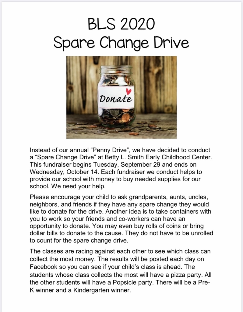 BLS Spare Change Drive