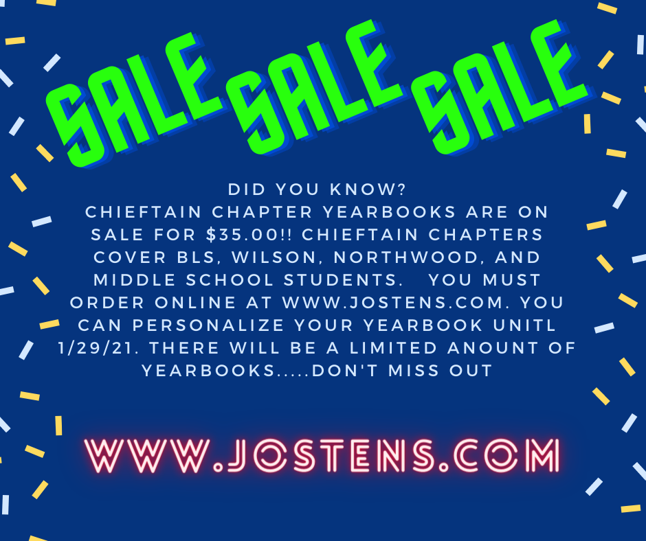 Chieftain Chapters Yearbook 2021