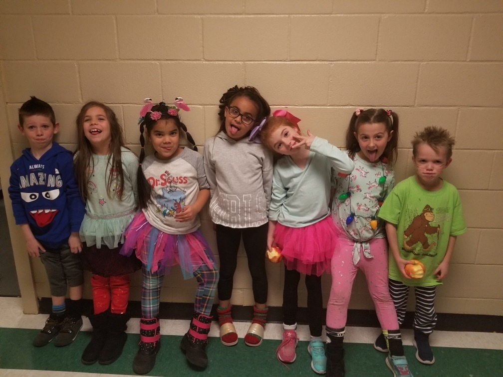 Read Across America Dress-Up Days