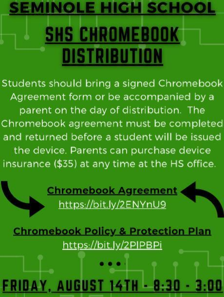 Chromebook Distribution Poster