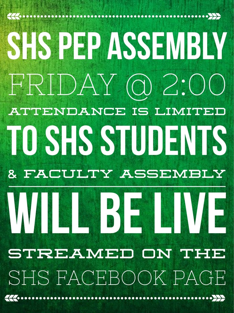 Friday Pep Assembly